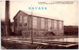 61 LA FERRIERE-aux-ETANGS - Société Des Mines De Denain Et Anzin - L'usine D'électricité    (Recto/Verso) - Autres Communes