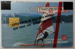 HUNGARY - Chip - 1st Issue - Phonecard´91 - Balaton Surf - Mint Blister - Hungría