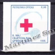 Bosnia Herzegovina - Serbia 1998 Beneficience Yvert 2, Red Cross - MNH - Bosnie-Herzegovine