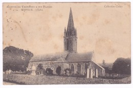 Canton De Trevieres VIERVILLE  L' église - France