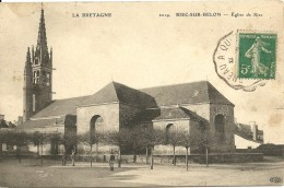 """RIEC SUR BELON, église, Série """"la Bretagne"""" ELD - Autres Communes"""