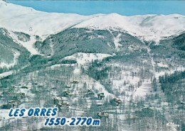 05 - LES ORRES - Alt 1650m -2770m - Vue Générale Aérienne. Station Hiver - Eté - Andere Gemeenten