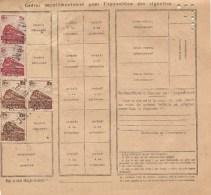 Bulletin D´expédition  N° 048305 Avec Timbre(s) N° 187 & 188 (EQ) - Pacchi Postali