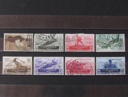 """ITALIA Regno-1934- """"Medaglie"""" 8 Val. US° (descrizione) - 1900-44 Victor Emmanuel III"""