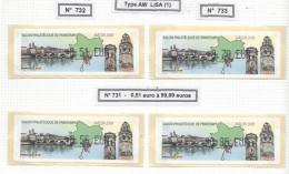 Timbres De Distributeur, Salon Philatélique De Macon 2009 - Stamps
