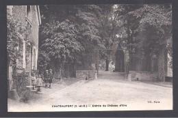 CHATEAUFORT - Entrée Du Château D' Ors - France
