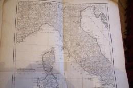 ATLAS Pour Illustrer  L'édition  De L'ouvrage  Voyage En Italie En 8 Volumes Paru En 1769 - 1701-1800