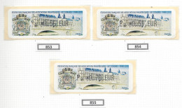Timbres De Distributeur, 83eme Congrès Paris 2010 - Stamps