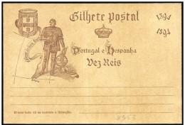 Portogallo/Portugal: Intero, Stationery, Entier, Enrico Il Navigatore, Henry The Navigator, Henri Le Navigateur - Célébrités