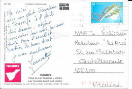 N°  2949    EUROPA  Espagne   -  1995  SUR Cp - 1931-Today: 2nd Rep - ... Juan Carlos I