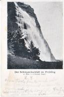 DER SCHREYENBACHFALL IM FRÜHLING - DOS UNIQUE - 14.10.1901 - AMINCI DEVANT - GL Glaris