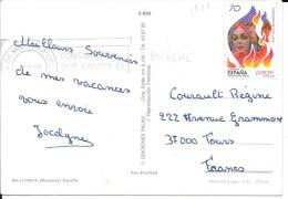 N°  3117      EUROPA  ESPAGNE   -  1998 SUR CP - 1931-Today: 2nd Rep - ... Juan Carlos I