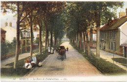 MORET - La Route De Fontainebleau - Attelage    (90703) - Moret Sur Loing