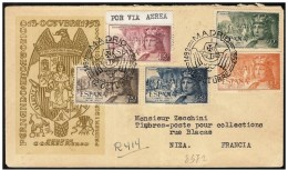 Spagna/Spain/Espagne: Raccomandata, Registered, Recommandé, Ferdinando, Ferdinand, Colombo, Colomb, Columbus - Christophe Colomb