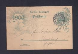 Entier Postal Allemagne Vers Rendsburg - Entiers Postaux