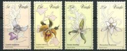 106 VENDA 1981 - Yvert 46/49 - Fleur Orchidee - Neuf ** (MNH) Sans Charniere - Venda