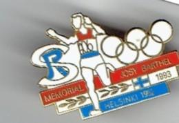 Pin JOSY BARTHEL Memory / Olympia Helsinki 1952 (1993) - Leichtathletik