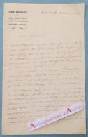 L.A.S 1852 Général Henry VIEYRA MOLINA - Gardes Nationale De La Seine > Général RENAULT - LAMARTINE - Lettre Autographe - Autographes