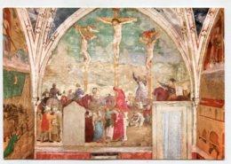CHRISTIANITY - AK281290 Roma - Basilica Di S. Clemente - Affresco Di  Masolino Da Panicale - La Crucifixion - Chiese E Conventi