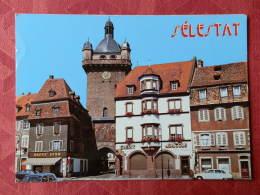 Dep 67 , Cpm SELESTAT , La Tour De L'horloge Du XIV° S. , 702/67 (04.1277) - Selestat