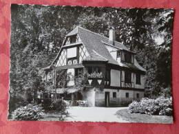 """Dep 67 , Cpsm STRASBOURG , 12N , Maison Alsacienne """"Buerchiesel"""" A L'Orangerie (04.1283) - Strasbourg"""