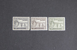 Turks & Caicos Is 1938-45 KGVI Mint Lot To 1sh Salt - Turks And Caicos