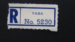 Sudan - Registration Label - Yaba - Look Scan - Sudan (1954-...)