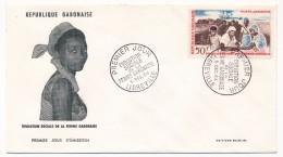 GABON => 1 FDC => Evolution Sociale De La Femme Gabonaise - 1964 - Gabon (1960-...)