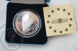 1992 France Proof Silver 15 ECU Coin/ 100 Francs -  Jean Monnet - Otros