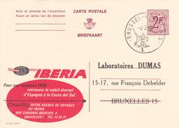 PUBLIBEL N° 2289 -  Iberia - FR/NL  - Beau Cachet (Bruxelles) - Publibels