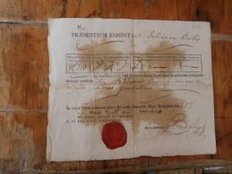 Praesentium Exhibit Szegedini 1820 - Documents Historiques