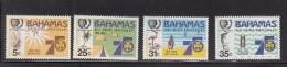 1985 Bahamas  Girl Guides  Complete Set Of 4 MNH - Bahamas (1973-...)