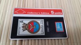 Phonecard Gibraltar  Stamps 306 A (Mint,Neuve) Rare