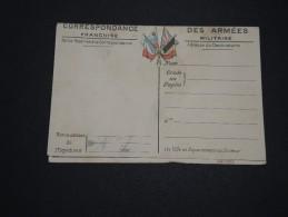 FRANCE - Carte De Franchise Militaire Avec Carte De L ´ Europe - A Voir - L 2133 - Cartes De Franchise Militaire