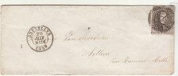 ESC N°10 O. 24 Bruxelles ->  Nethen 1859 - 1858-1862 Médaillons (9/12)