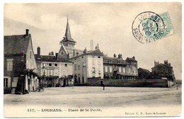 CPA 71 ( Saone Et Loire ) - LOUHANS - Place De La Poste - Louhans