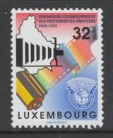 TIMBRE NEUF DU LUXEMBOURG - CINQUANTENAIRE DE LA FEDERATION LUXEMBOURGEOISE DES PHOTOGRAPHES AMATEURS N° Y&T 1425 - Fotografia