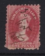 Australien Tasmanien Mi#15 Zähn 10 Hand Entwertet 1867-11-25 - 1853-1912 Tasmania