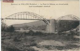 Ardèche : Vallon, Le Pont De Salavas, Tout Nouvellement Construit - Vallon Pont D'Arc