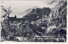 SALZBURG - Blick Auf Hohensalzburg, Weihnachtskarte, Gestempelt Am 1.1.1965 - Salzburg Stadt