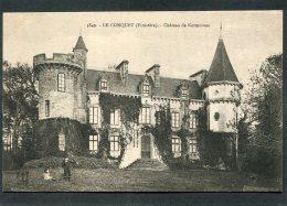 CPA - LE CONQUET - Château De Kermorvan, Animé - Le Conquet