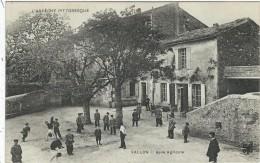 Ardèche : Vallon, Asile Agricole, Animée - Vallon Pont D'Arc