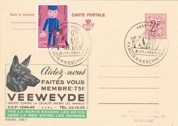 PUBLIBEL N° 2248F - Veeweyde  - FR - Beau Cachet (Farciennes) - Entiers Postaux