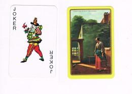 Joker - Courtyartd In Delft (De Hoogh) - Playing Cards (classic)
