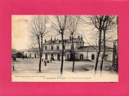 BERGERAC, La Gare, Vue De L'Extérieure, Animée, 1915, (Louis Garde), 24 Dordogne. - Bergerac