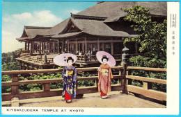 KIYOMIZUDERA TEMPLE AT KYOTO ( Japan ) * Not Travelled * Geisha - Kyoto