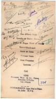 VP5489 - Menu - Association Des Anciens élèves De Saint Michel - Restaurant Luce NOEL & PETERS à PARIS - Menus