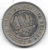 10 Centimes 1862 - 1831-1865: Léopold I
