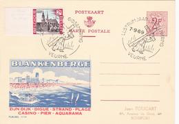 PUBLIBEL N° 1719 - Blankenberge- NL/FR - Beau Cachet (Veurne) - Publibels