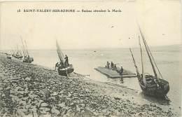 80 SAINT VALERY SUR SOMME - Radeau Attendant La Marée - Saint Valery Sur Somme